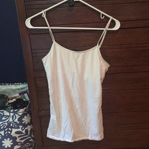 American Eagle Outfitters White Basic Cami